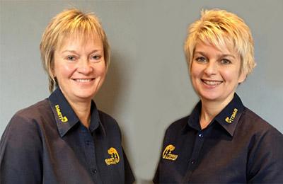 Lesley Salt and Sue Gassick, Senior Instructors